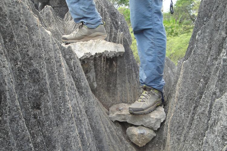 Tsingy du bemaraha - La montée aux belvédères