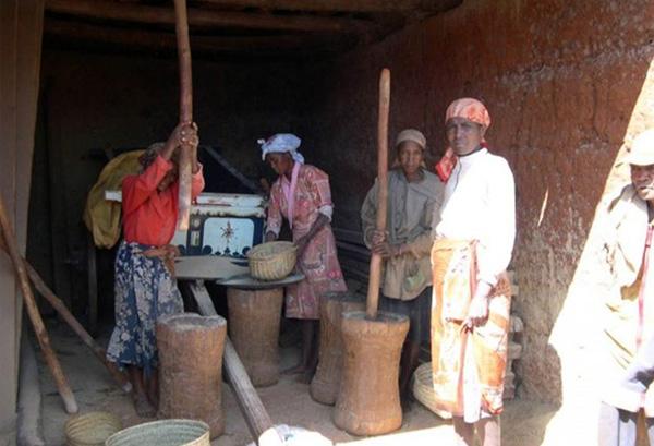 Villageois Vakinakaratra Madagascar